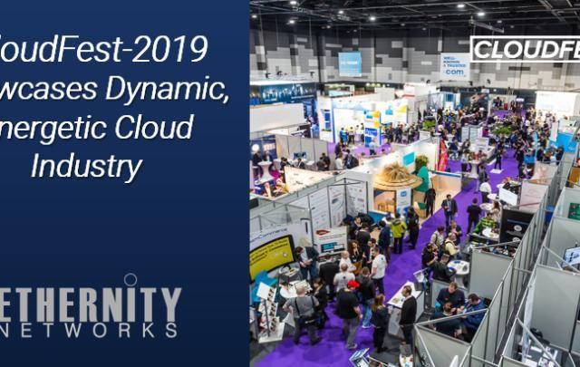 CloudFest 2019 showcaes dynamic energetic cloud industry